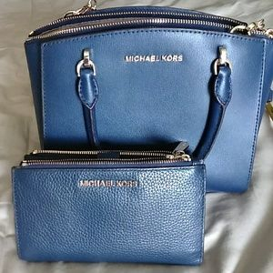 Michael Kors crossbody bag and wallet